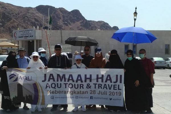AQU Tour Travel - Haji Furoda - Jabal Uhud Madinah-min